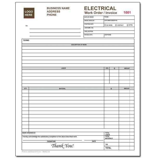 39 Creating Electrical Contractor Invoice Template In Word By Electrical Contractor Invoice Template Cards Design Templates