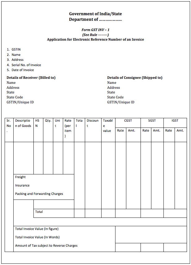 39 Creative Tax Invoice Format For Gst Photo with Tax Invoice Format For Gst