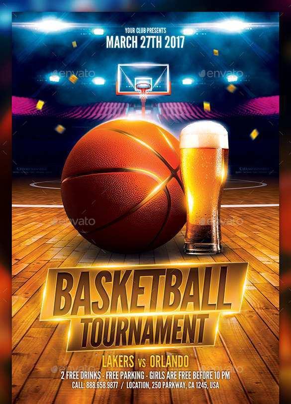 39 Customize Basketball Game Flyer Template Templates for Basketball Game Flyer Template