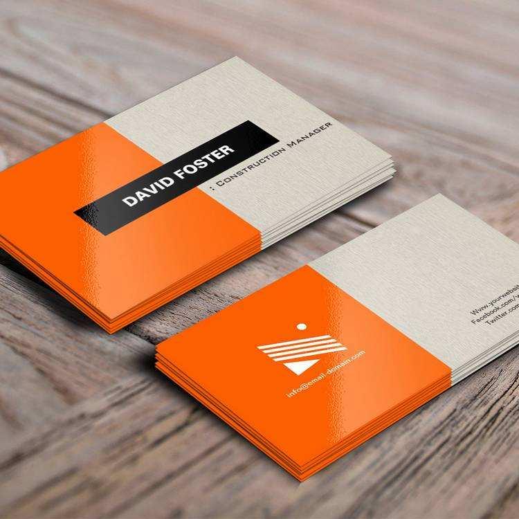 39 Customize Construction Business Card Templates Download Free Maker by Construction Business Card Templates Download Free