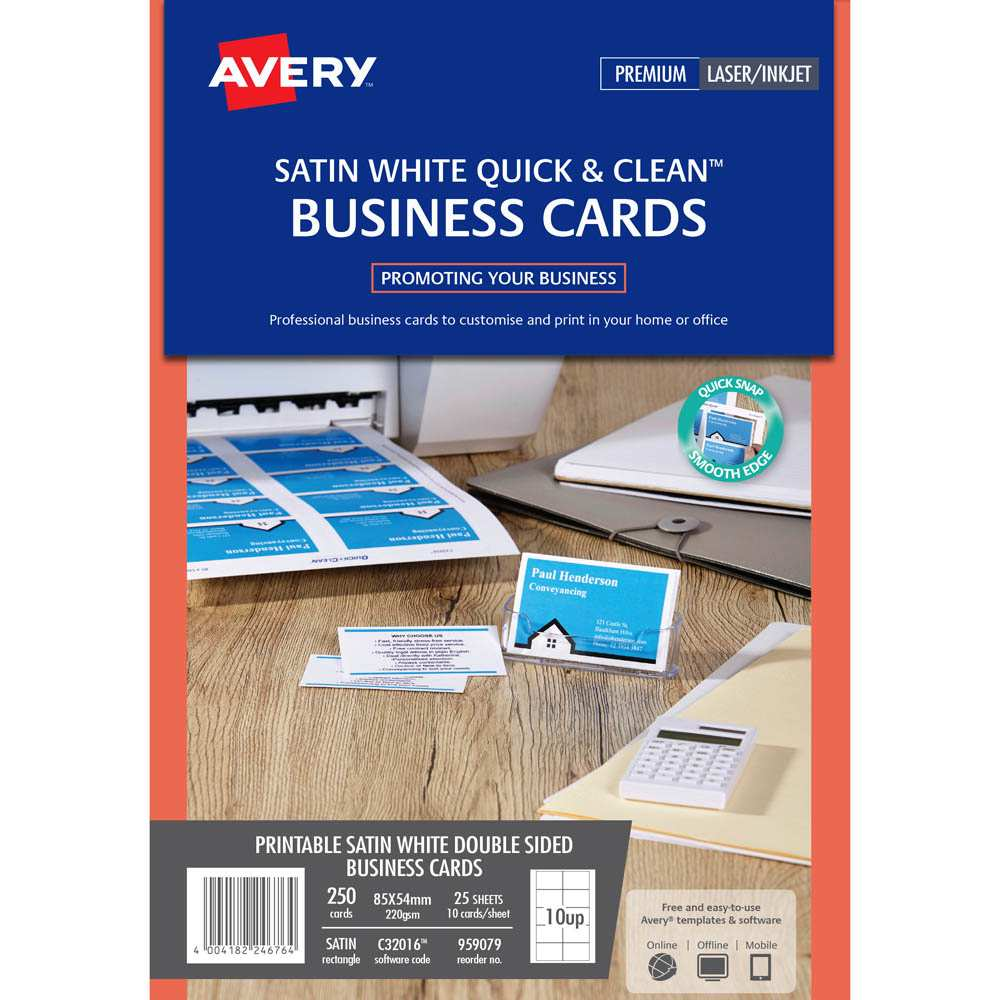 39 Customize Our Free Avery Business Card Template C32016 in Word by Avery Business Card Template C32016