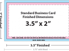 39 Customize Our Free Business Card Template Bleed Download for Business Card Template Bleed