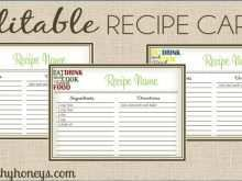 39 Free A Recipe Card Template For Free for A Recipe Card Template