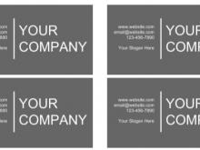 39 Free Printable Business Card Template Editable Free in Word with Business Card Template Editable Free
