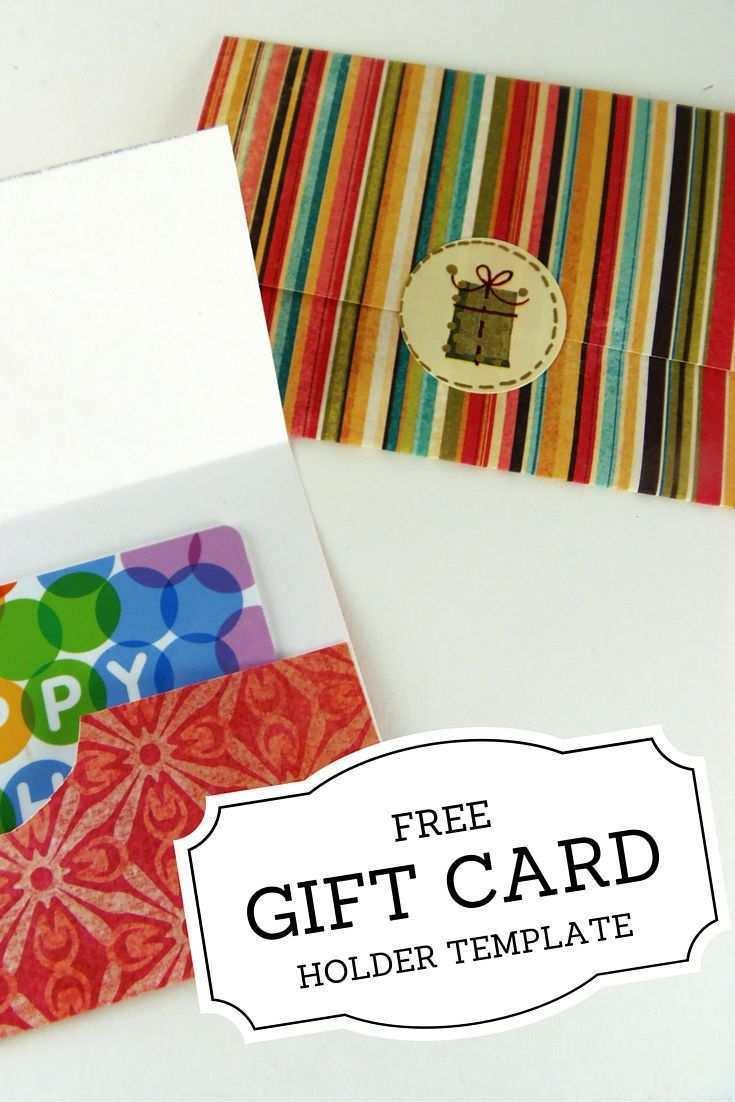 39 Free Printable Christmas Gift Card Holder Template Free Formating by Christmas Gift Card Holder Template Free