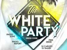 39 How To Create All White Party Flyer Template Free Photo for All White Party Flyer Template Free