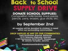 39 How To Create Back To School Supply Drive Flyer Template in Photoshop for Back To School Supply Drive Flyer Template