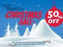 39 How To Create Christmas Sale Flyer Template in Word for Christmas Sale Flyer Template