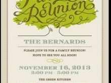 39 How To Create Invitation Card Reunion Sample PSD File for Invitation Card Reunion Sample