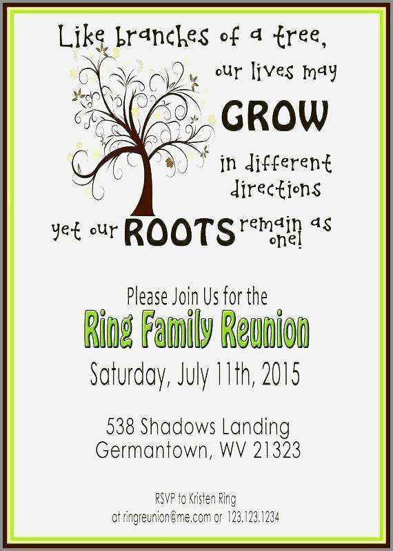 39 Online Family Reunion Flyer Template
