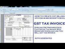39 Online Invoice Format Excel Gst For Free with Invoice Format Excel Gst