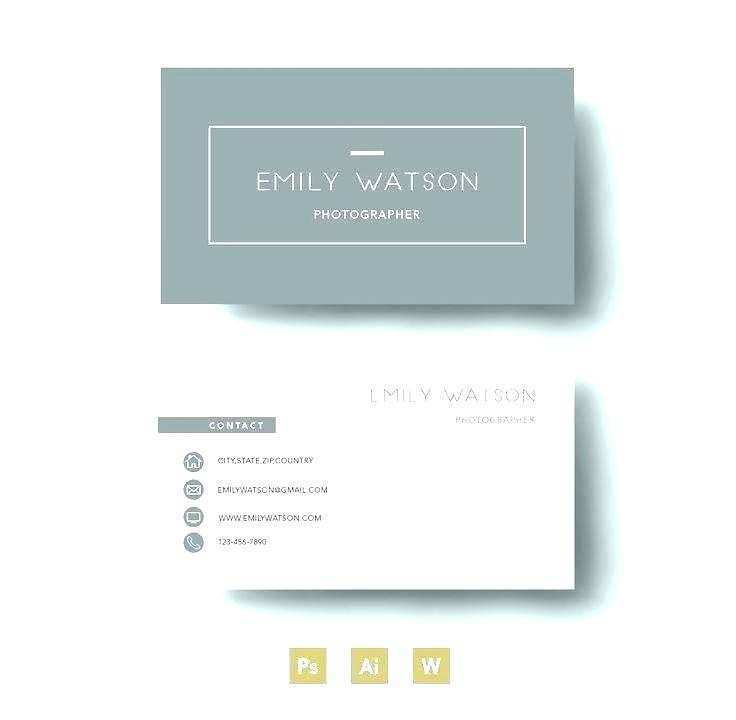 39 Printable 2 Sided Business Card Template Word for Ms Word for 2 Sided Business Card Template Word