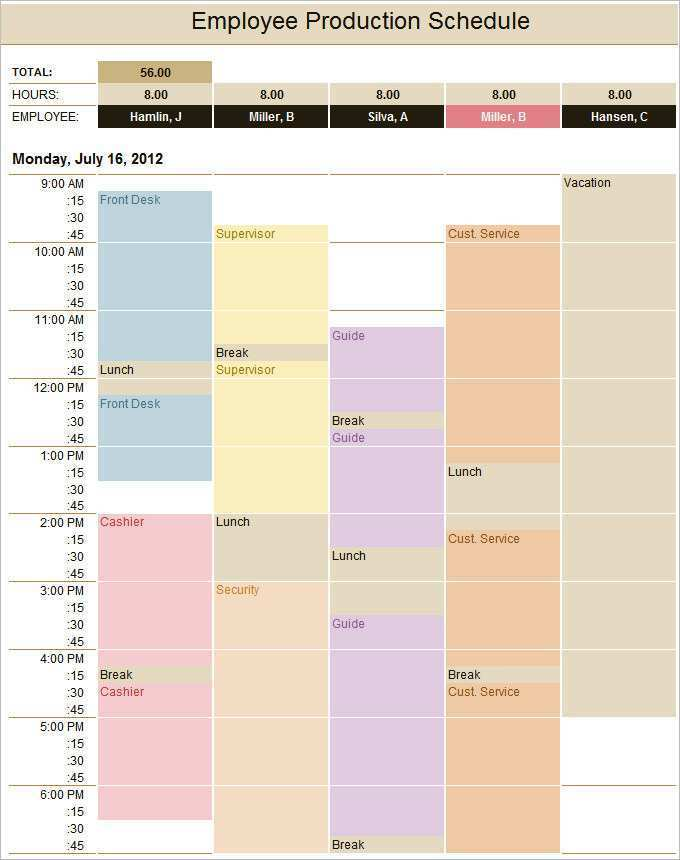 39 Report Conference Production Schedule Template PSD File for Conference Production Schedule Template