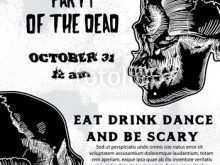 Halloween Dance Flyer Templates