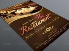 Restaurant Menu Flyer Templates