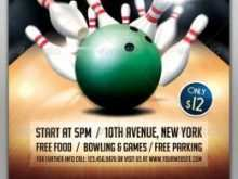 39 Standard Bowling Flyer Template Free PSD File for Bowling Flyer Template Free