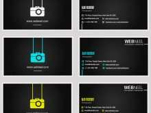 Photography Business Card Templates Illustrator