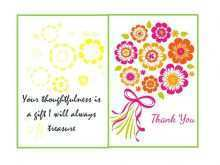Thank You Card Template For Customers