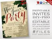 39 The Best Christmas Invitation Flyer Template Free Templates by Christmas Invitation Flyer Template Free