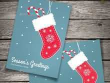 39 The Best Christmas Stocking Card Template in Word by Christmas Stocking Card Template
