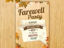 39 The Best Farewell Party Invitation Card Templates Templates for Farewell Party Invitation Card Templates