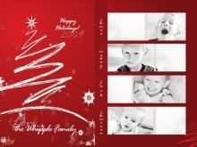 Free Christmas Card Template For Photoshop