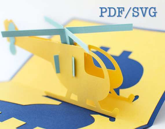 40 Airplane Pop Up Card Template With Stunning Design by Airplane Pop Up Card Template