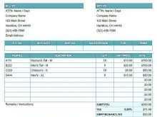 40 Best Construction Management Invoice Template Layouts with Construction Management Invoice Template