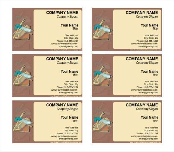 40 Blank Name Card Template Word Free Templates for Name Card Template Word Free