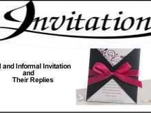 Invitation Card Format Class 12 Cbse
