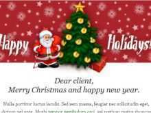 40 Creating Email Christmas Card Template Uk With Stunning Design for Email Christmas Card Template Uk