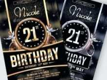 40 Creative Free Birthday Flyer Template Word PSD File for Free Birthday Flyer Template Word