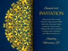 40 Customize Invitation Card Vector Sample in Word for Invitation Card Vector Sample