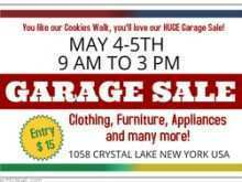 40 Format Garage Sale Flyer Template for Ms Word for Garage Sale Flyer Template