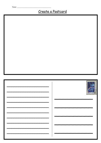 40 Free A4 Postcard Template With Lines Now for A4 Postcard Template With Lines