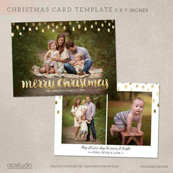 40 Free Christmas Card Templates Etsy Templates with Christmas Card Templates Etsy