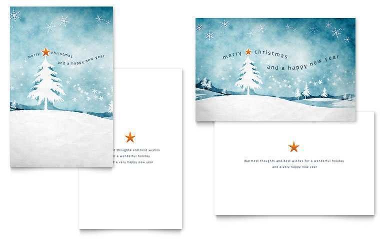 40 Free Christmas Greeting Card Template Word in Word for Christmas Greeting Card Template Word