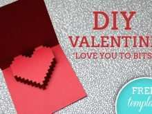 40 Free Free Printable Valentine Pop Up Card Templates For Free by Free Printable Valentine Pop Up Card Templates