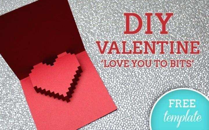 40 Free Free Printable Valentine Pop Up Card Templates For Free by Free Printable Valentine Pop Up Card Templates