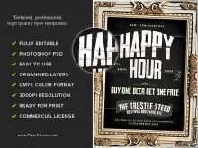 40 Free Happy Hour Flyer Template Free For Free with Happy Hour Flyer Template Free