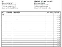 40 Online Blank Invoice Template Google Docs For Free for Blank Invoice Template Google Docs