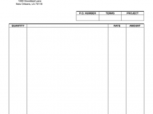 40 Online Blank Payment Invoice Template Maker by Blank Payment Invoice Template