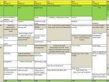 40 Printable 3 Week Travel Itinerary Template Templates by 3 Week Travel Itinerary Template
