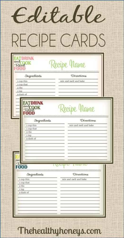 40 Standard 5X7 Recipe Card Template Free Templates with 5X7 Recipe Card Template Free
