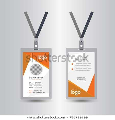 40 Standard Orange Id Card Template Formating by Orange Id Card Template