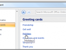 Christmas Card Templates Microsoft Word