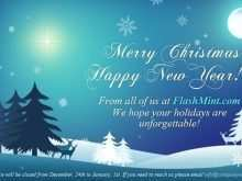 40 Visiting Christmas Card Template For Email for Ms Word by Christmas Card Template For Email