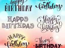 41 Adding Birthday Card Lettering Template For Free by Birthday Card Lettering Template
