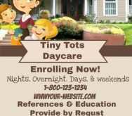 41 Adding Home Daycare Flyer Templates For Free for Home Daycare Flyer Templates