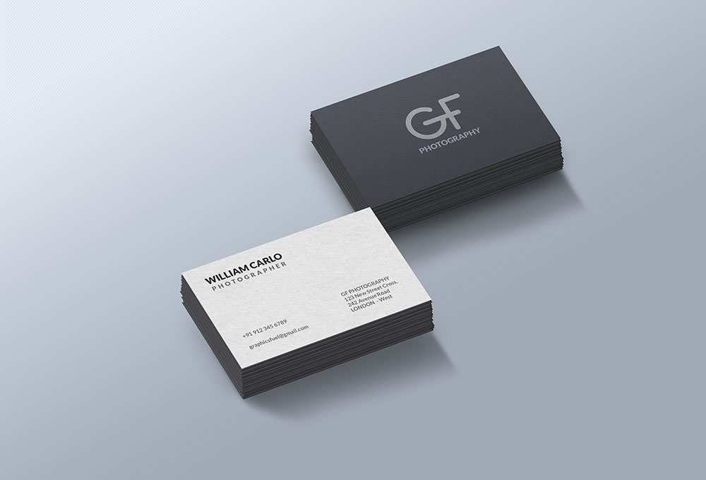 41 Best Business Card Mockup Template Free Download Download for Business Card Mockup Template Free Download